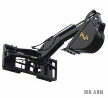 BIG ARM SKIDSTEER BACKHOE